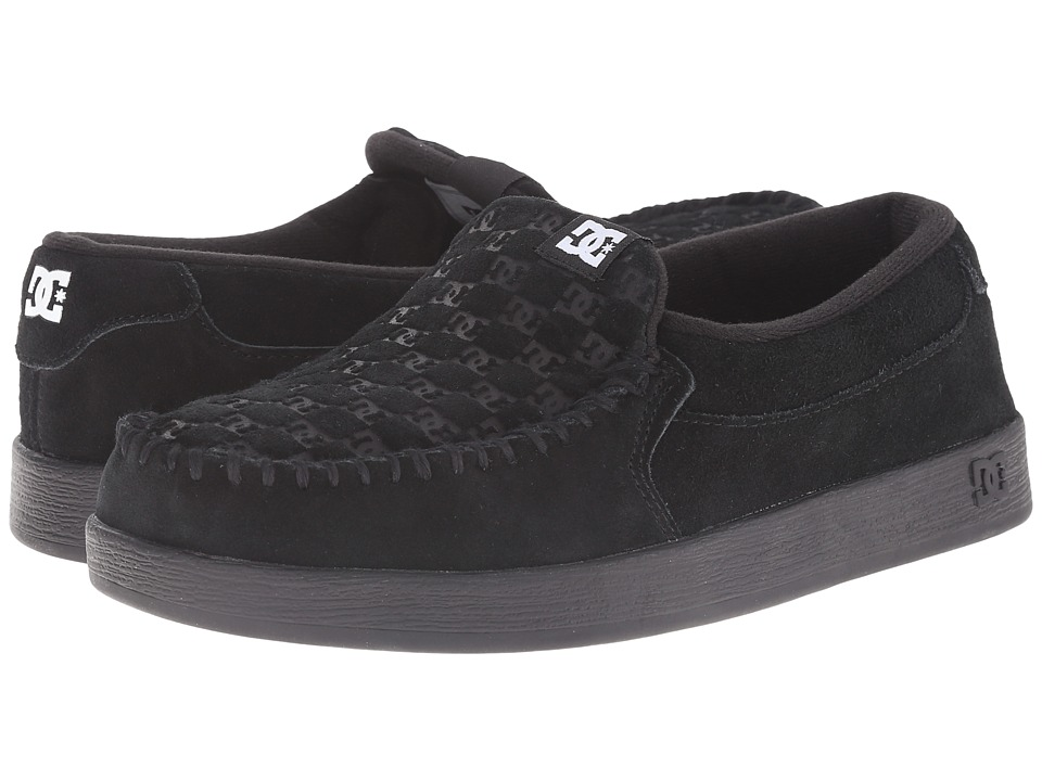 DC - Villain (Black) Men's Skate Shoes