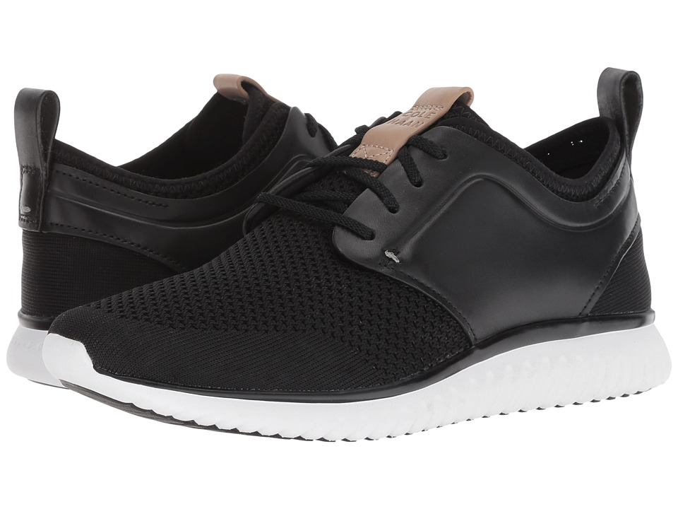 Cole Haan Grand Motion Knit (Black/Optic White) Men