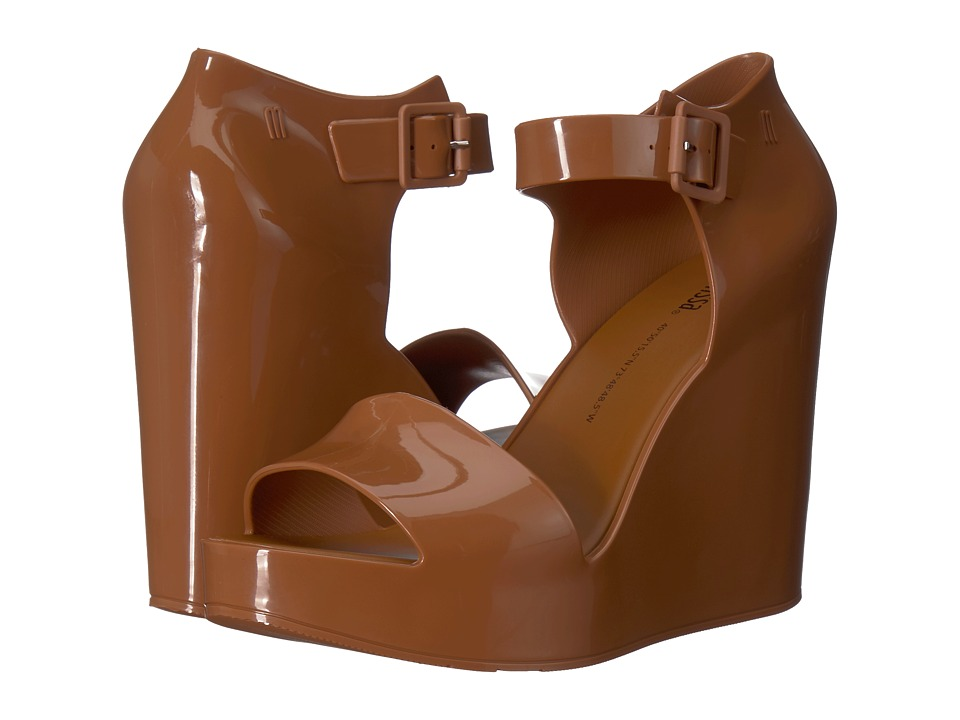 Melissa Shoes Mar Wedge (Brown Almond) Women