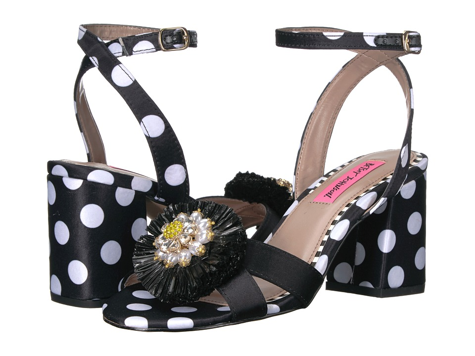 Betsey Johnson Asha (Black Poka Dot) Women