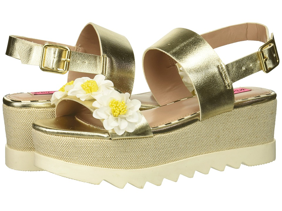 Betsey Johnson Pipper (Gold) Women