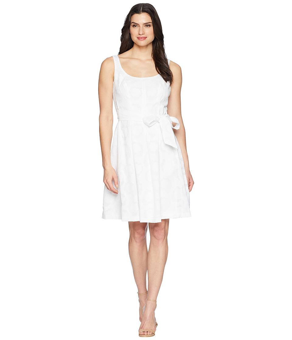Nine West Carrot Body Dress (Petal White) Women