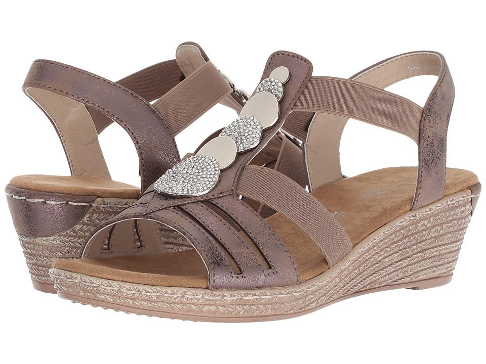 PATRIZIA Shprinza Wedge Sandal (Taupe) Women