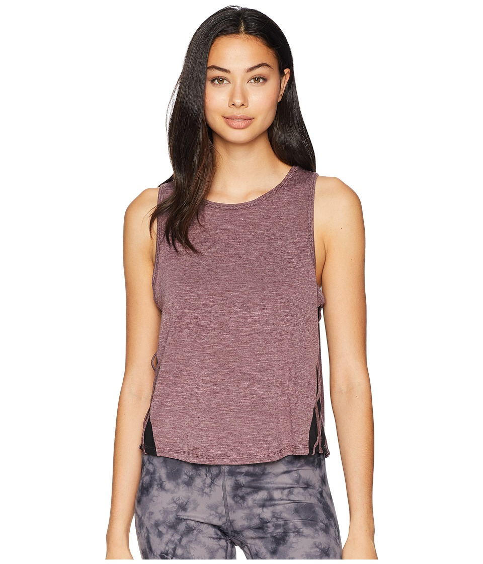 Jessica Simpson TheWarmUp Mesh Side Tank Top (Fig) Women