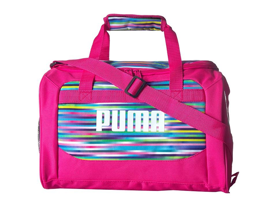 PUMA Evercat Youth Transformation 13 Junior Duffel (Little Kids/Big Kids) (Pink/Multi) Duffel Bags