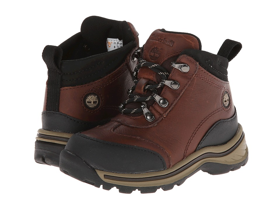 Timberland Kids - Regular Kid Hiking Core (Toddler/Little Kid) (Brown) Boys Shoes