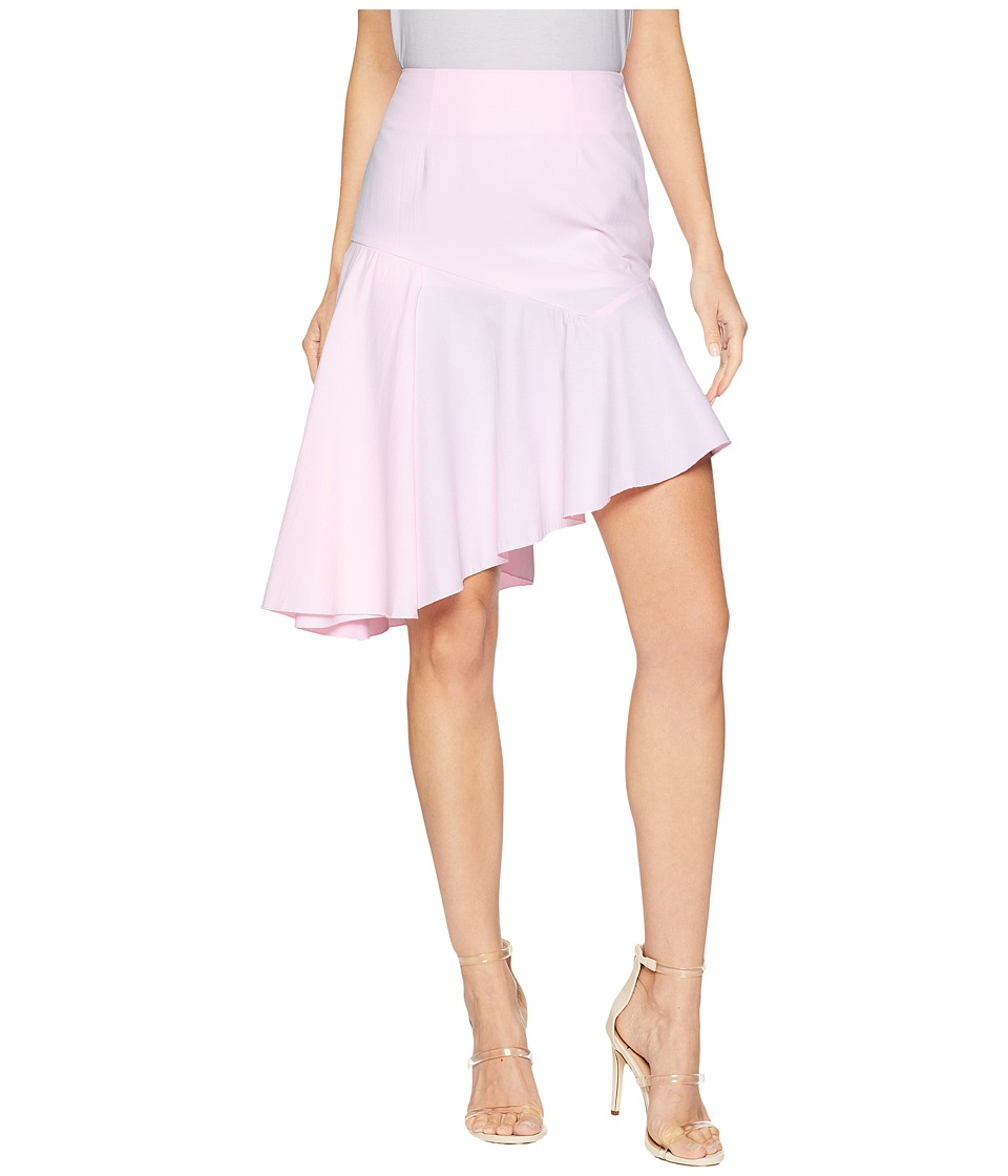 ROMEO & JULIET COUTURE Asymmetrical Skirt (Light Pink) Women