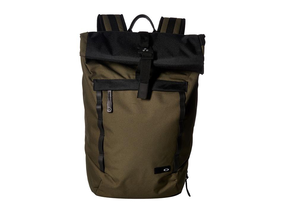 Oakley Voyage 23L Roll Top (Dark Brush) Backpack Bags