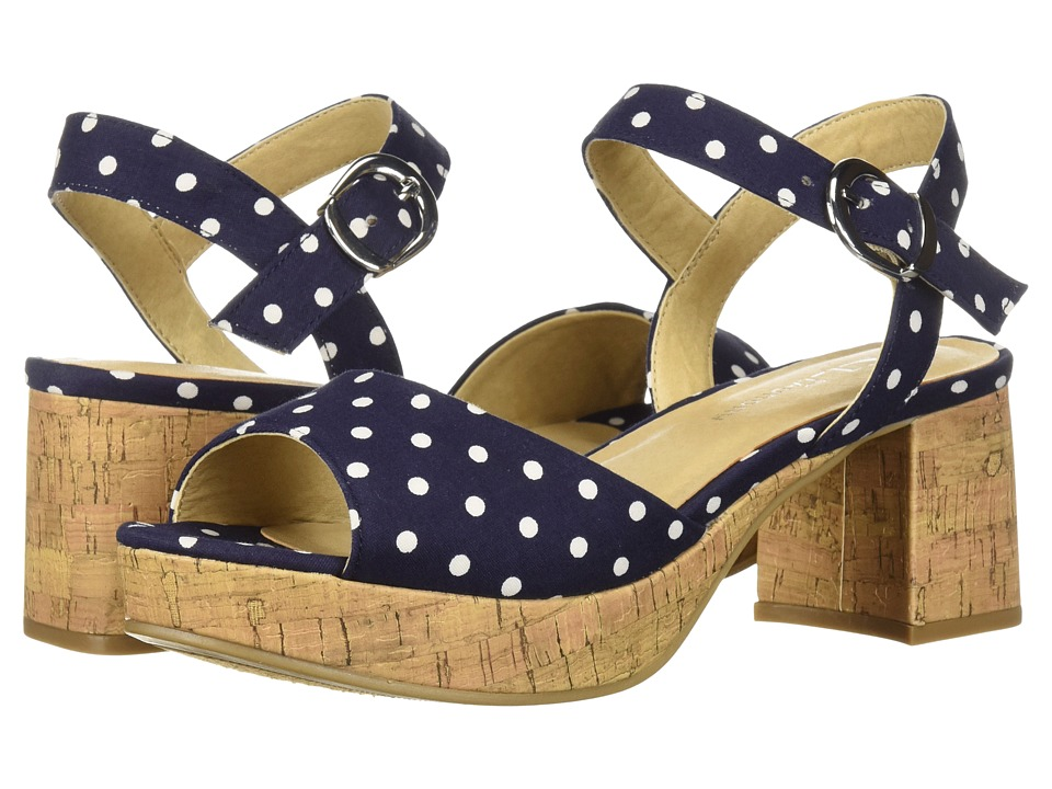 CL By Laundry Kensie (Navy Dots Denim) High Heels