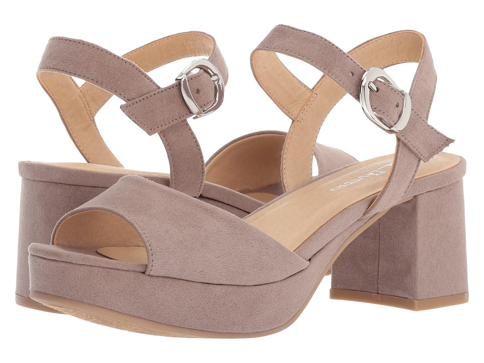 CL By Laundry Kensie (Pebble Taupe Super Suede) High Heels