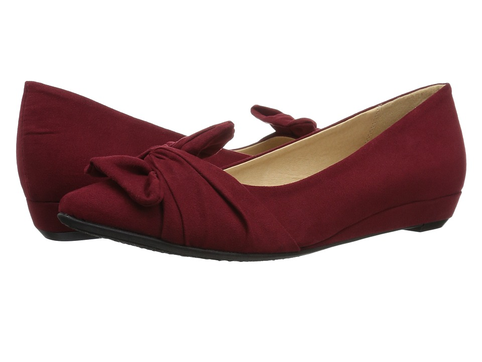 CL By Laundry Super Cute (Dark Cherry Red Suede) Women