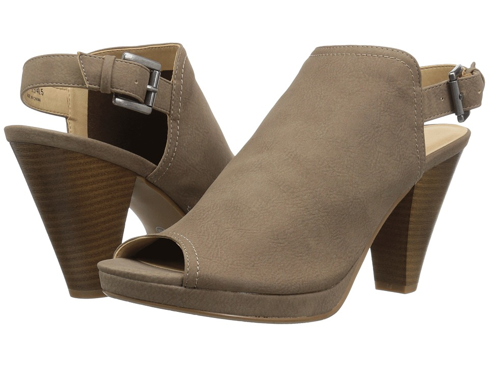 CL By Laundry Wake Up (Dark Taupe Burnished) High Heels
