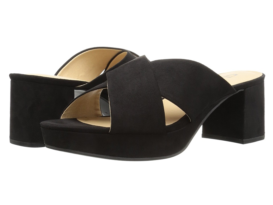 CL By Laundry Kismet (Black Super Suede) High Heels