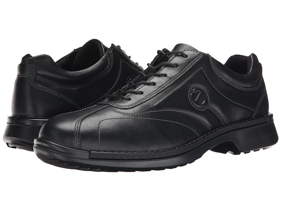 ECCO - Neoflexor (Black Leather) Men's Lace up casual Shoes