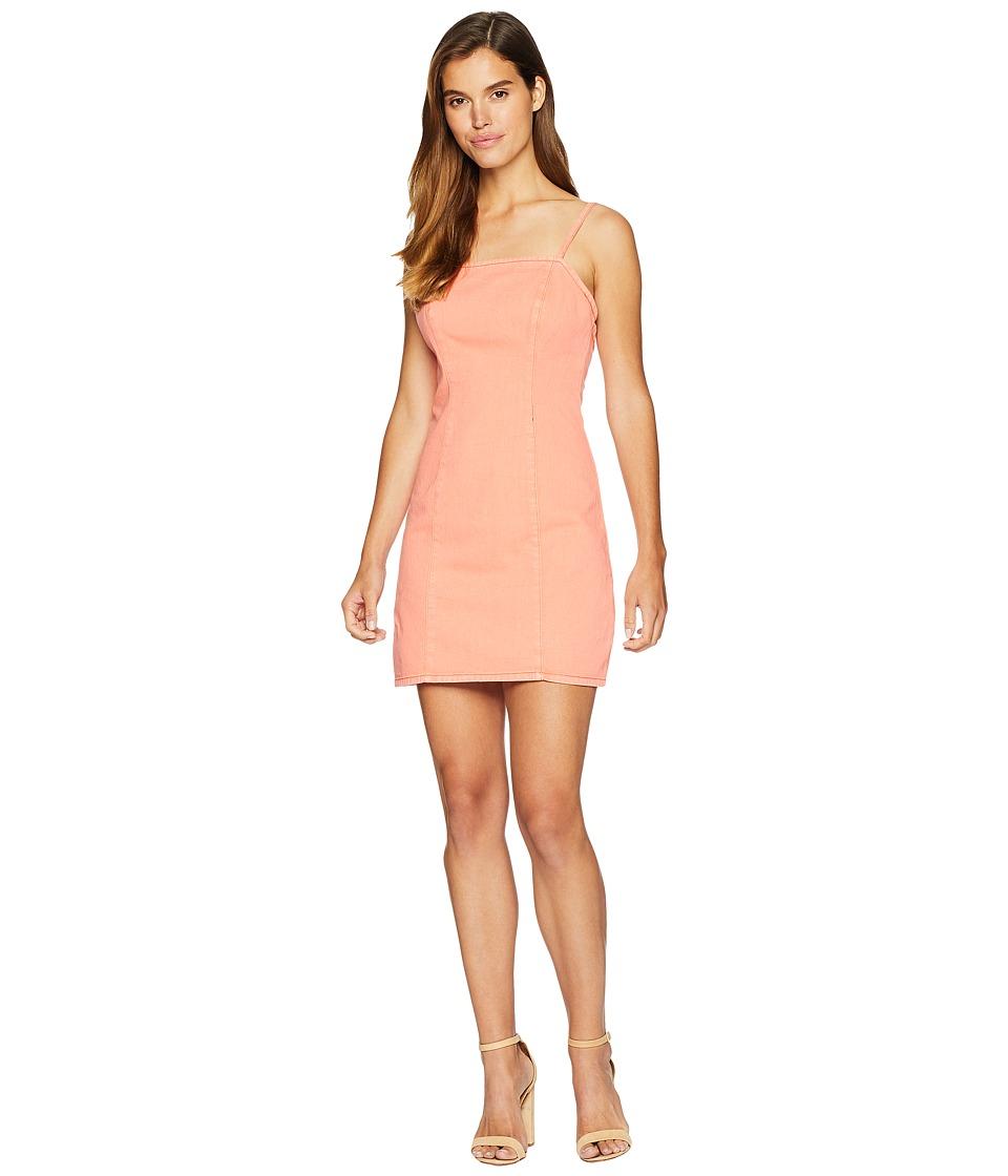 MINKPINK Spice Ally Denim Dress (Burnt Orange) Women