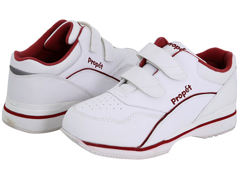 Propet - Tour Walker Medicare/HCPCS Code=A5500 Diabetic Shoe (White/Berry) Women's Shoes