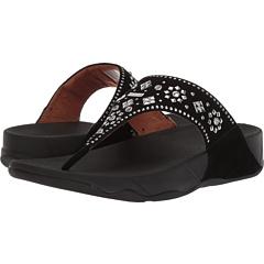 8165894b632224 FitFlop Lulu Aztek Stud Toe-Thong Sandals - Suede at 6pm