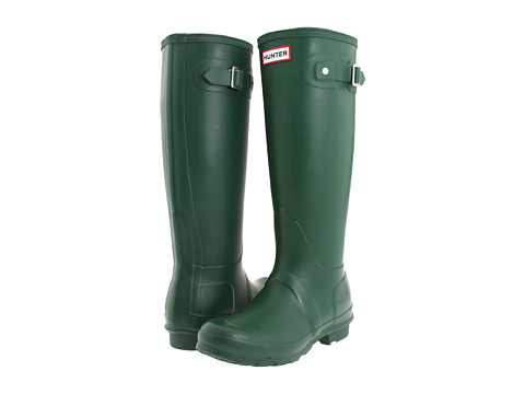 Hunter - Hunter Original (Green) Women's Rain Boots