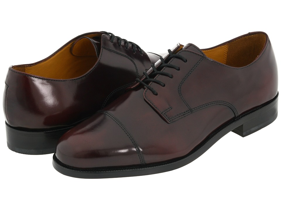 Cole Haan - Caldwell (Burgundy) Men's Lace Up Cap Toe Shoes