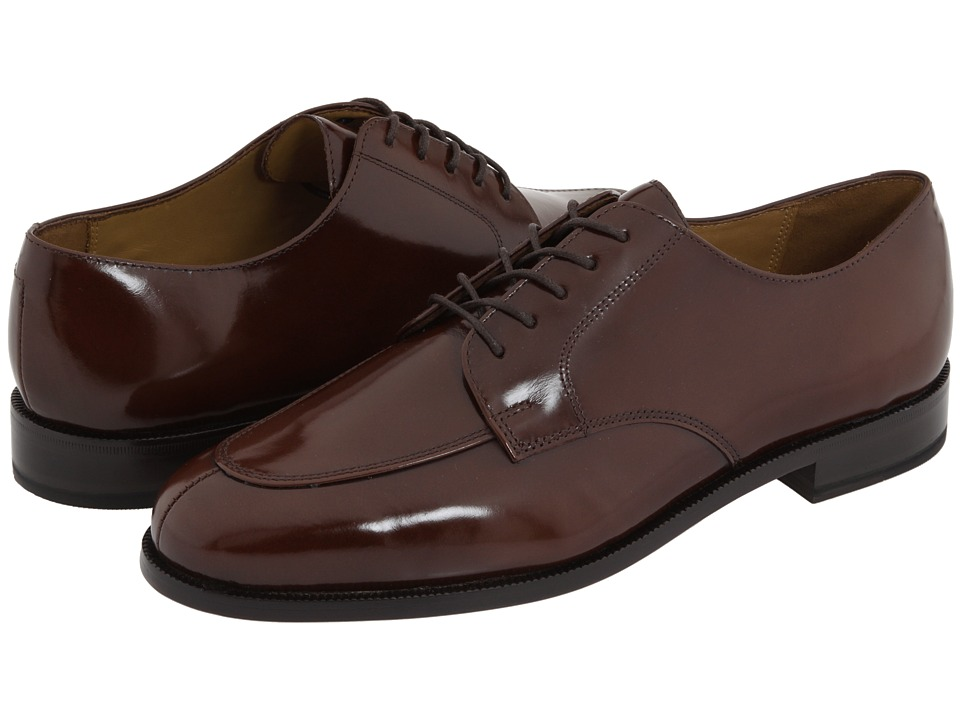 Cole Haan - Calhoun (Mahogany) Men's Lace Up Moc Toe Shoes