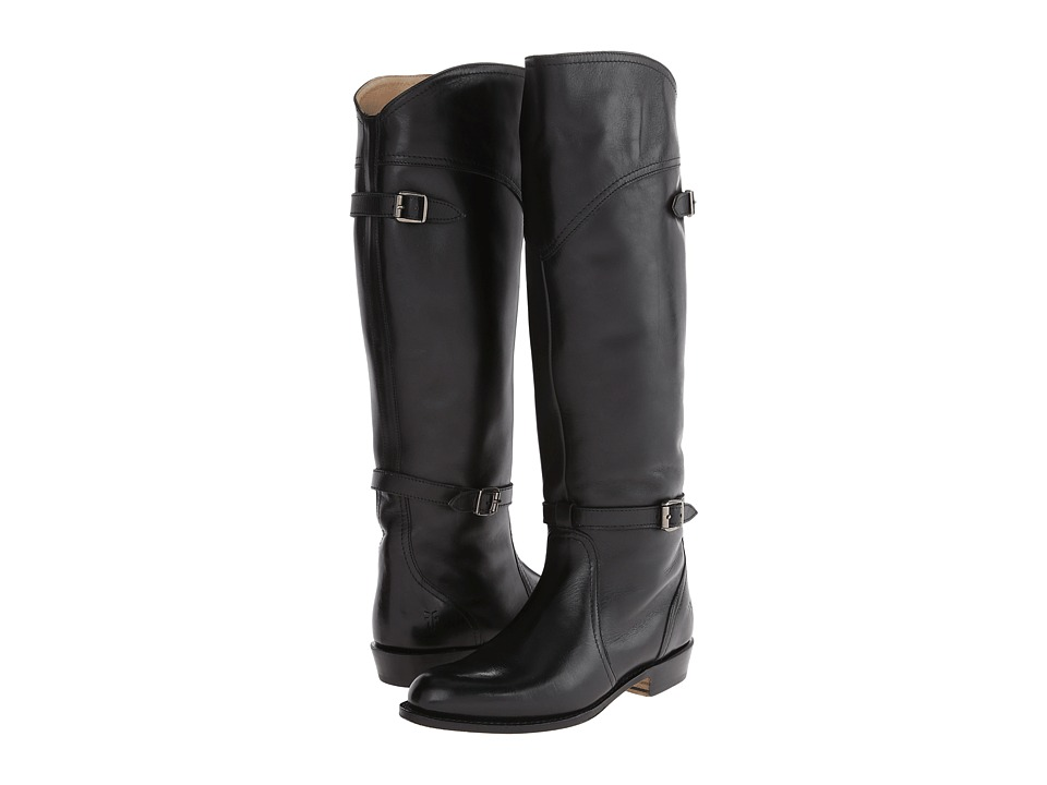 Frye - Dorado Riding (Black Leather) Women's Pull-on Boots