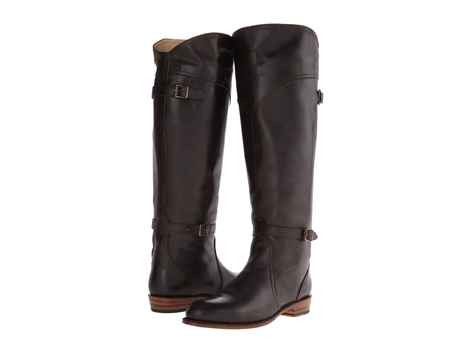 Frye Dorado Riding (Dark Brown Leather) Women