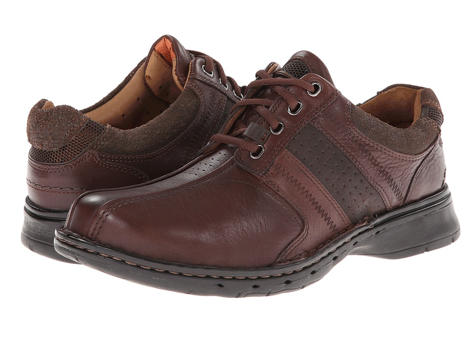 Clarks - Un.coil (Brown Leather) Men