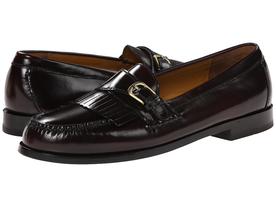 Cole Haan - Pinch Buckle (Burgundy) Men's Slip-on Dress Shoes