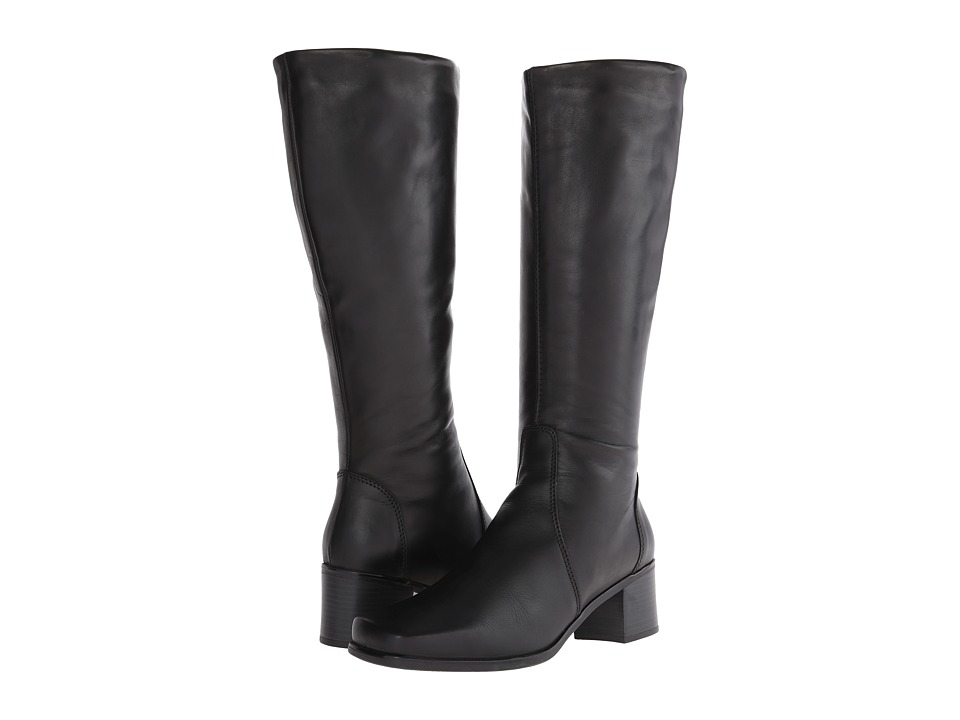 La Canadienne - Jenny (Black Leather) Women's Dress Boots