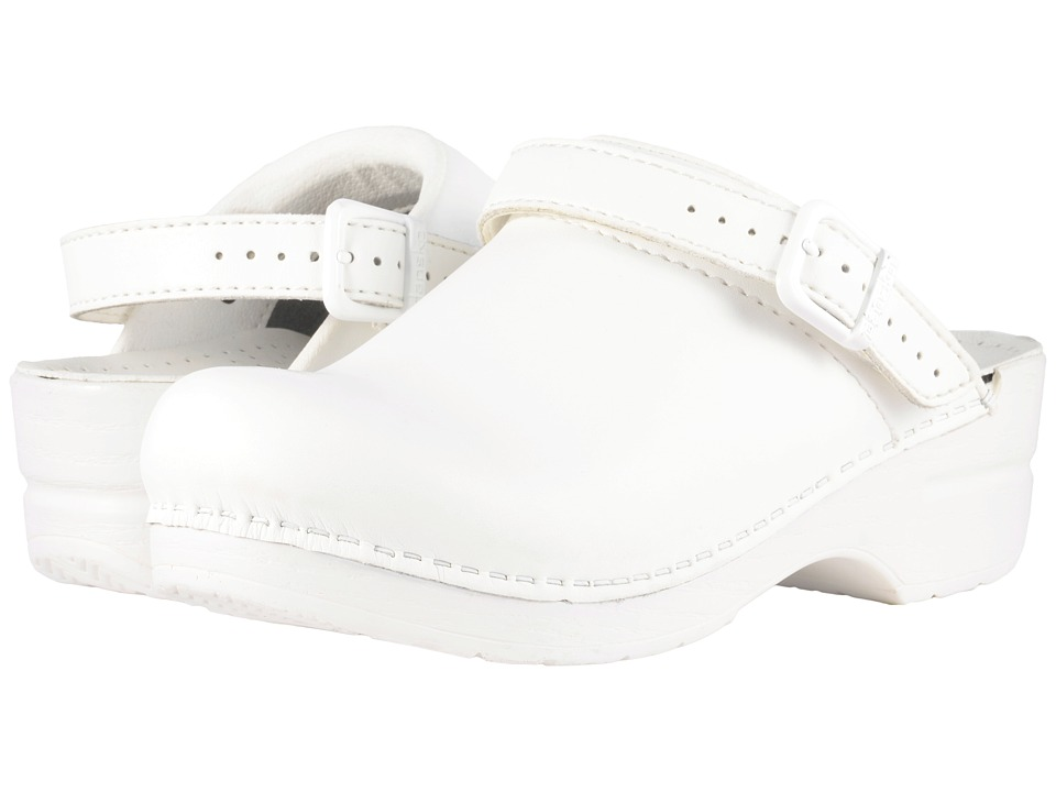 Dansko - Ingrid (White Box) Women's Clog Shoes