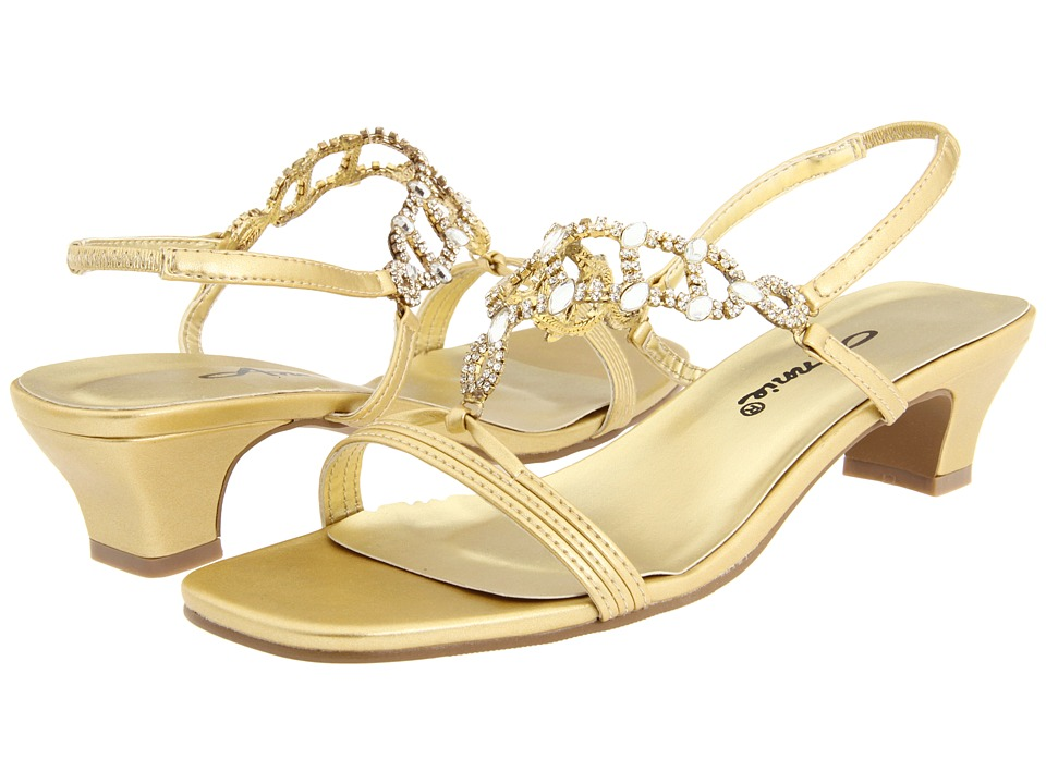 Annie - Allison (Gold) Women's Bridal Shoes