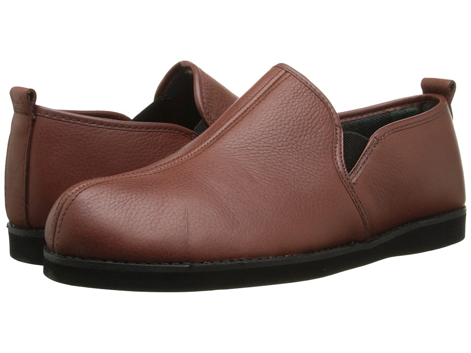 L.B. Evans - Admiral (Cognac Leather) Men's Slippers