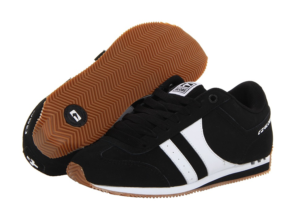 Globe - Pulse (Black/White) Men's Skate Shoes