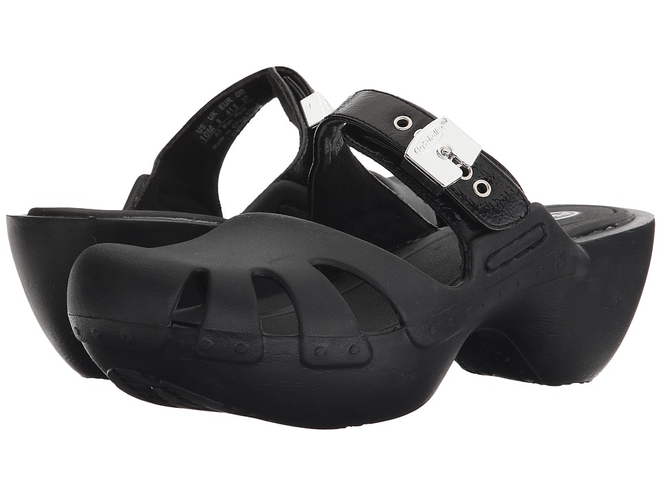 Dr. Scholl's - Dance (Black Rumple) Women's Clog/Mule Shoes