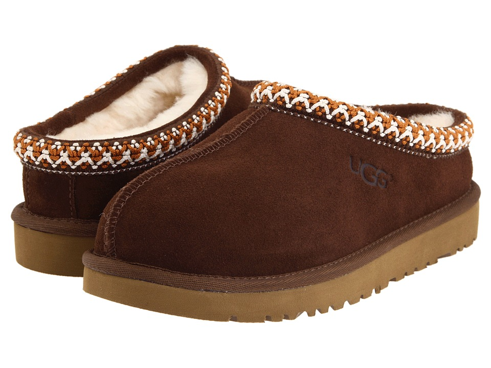 UGG Kids Tasman (Toddler/Little Kid/Big Kid) (Chocolate) Kids Shoes