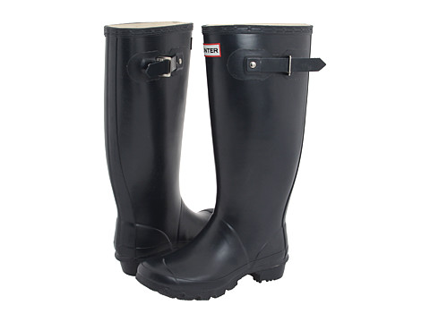 Hunter - Huntress (Navy) Women's Rain Boots