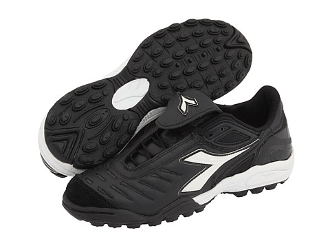 Diadora - Maracana TF W (Black/White) Women's Soccer Shoes