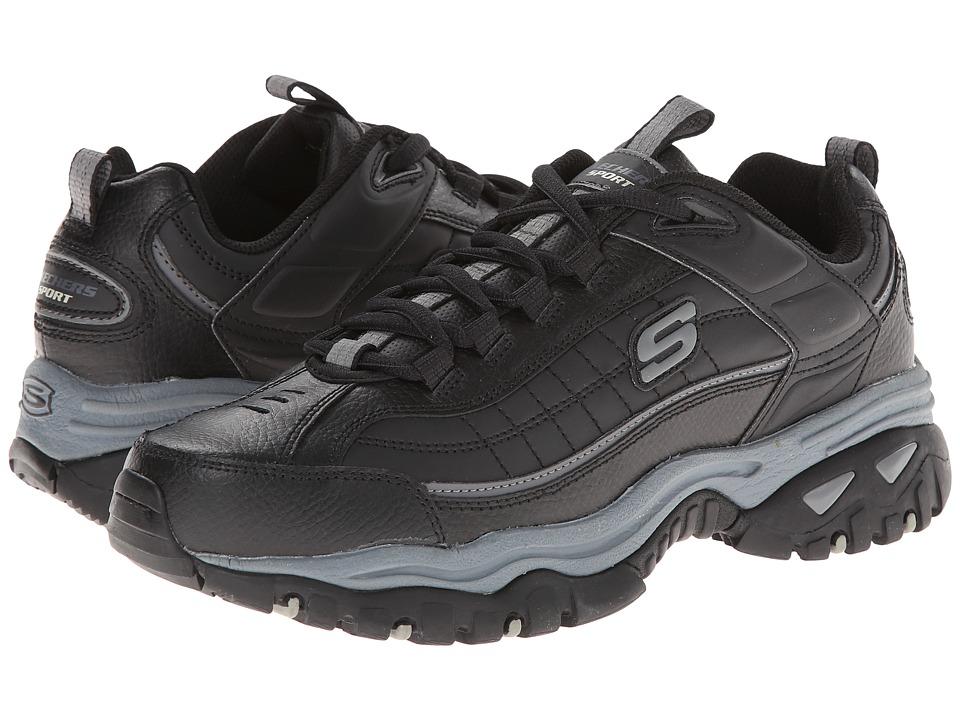 SKECHERS - Energy - Afterburn (Black/Black) Men's Shoes