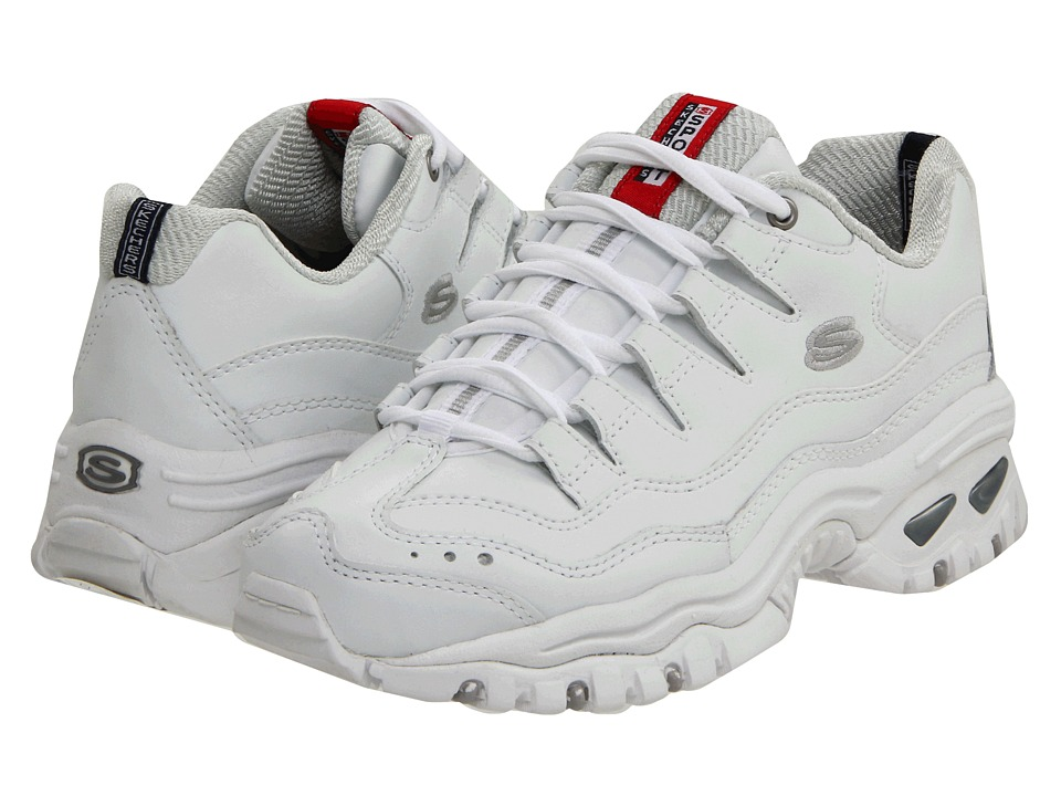 SKECHERS - Energy (White Mesh/Leather) Women