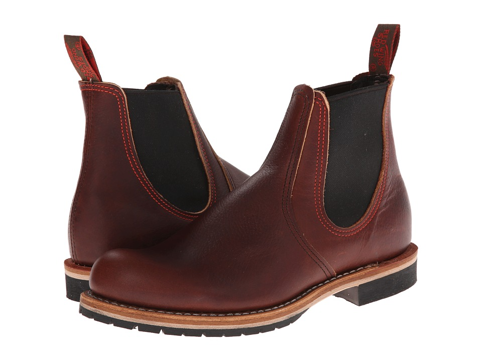 Red Wing Heritage - Chelsea Rancher (Briar Oil Slick) Men's Pull-on Boots