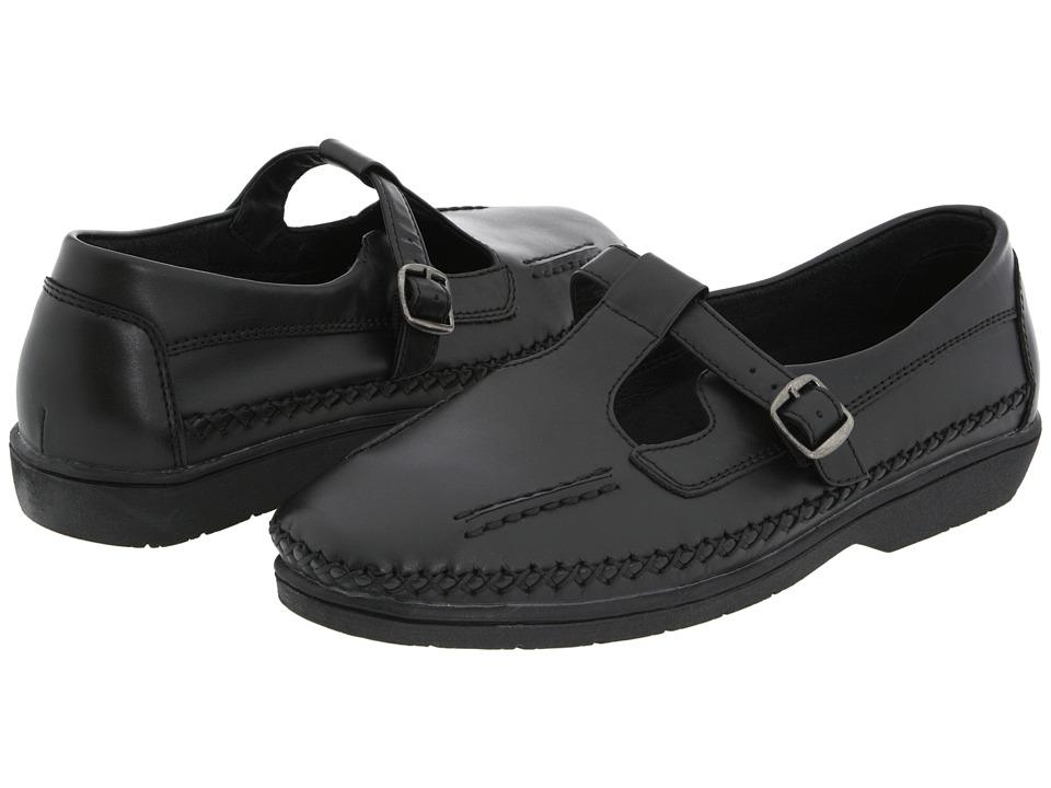 Propet - Caf Walker Medicare/HCPCS Code=A5500 Diabetic Shoe (Black Leather) Women