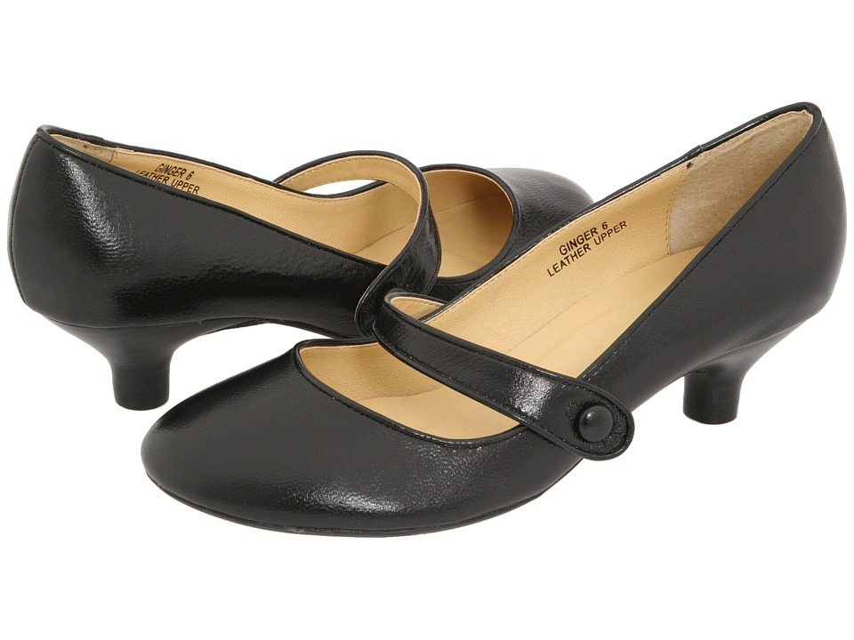 Gabriella Rocha - Ginger (Black Leather) Women's Maryjane Shoes