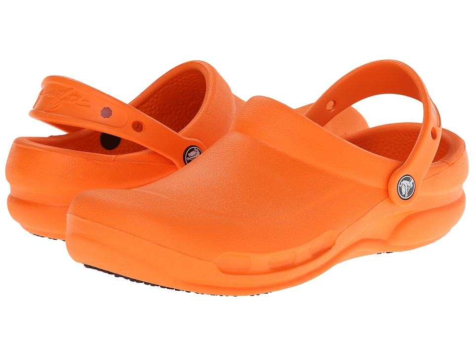 Crocs - Bistro (Unisex) (Batali Orange) Clog Shoes