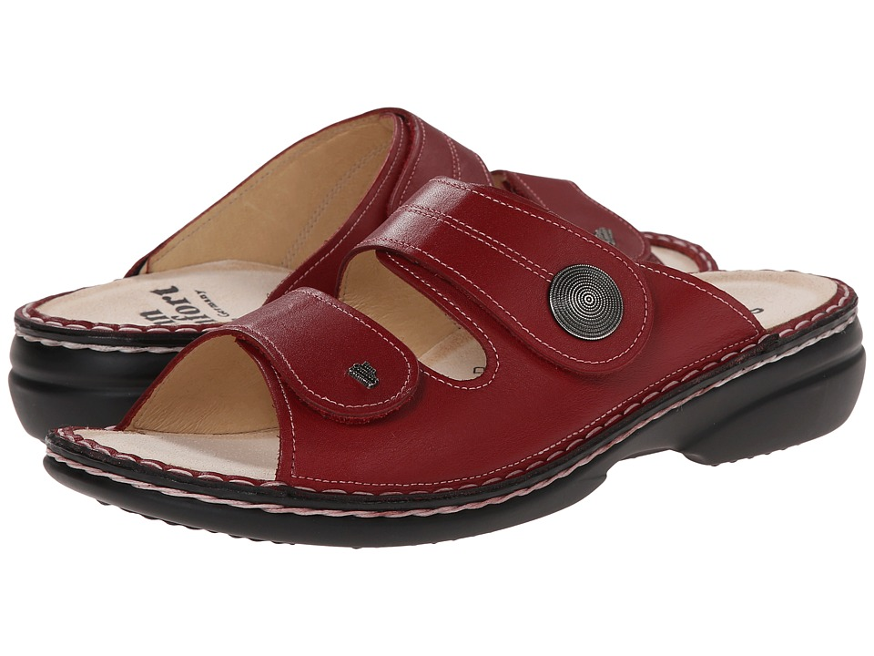 Finn Comfort - Sansibar - 82550 (Red Leather) Women