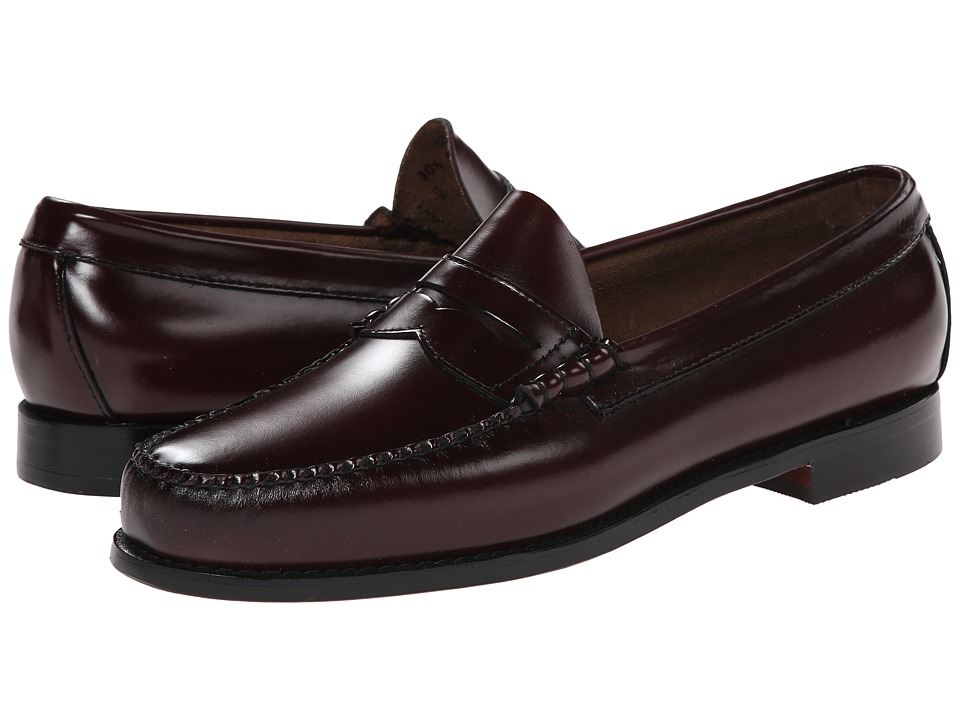 Bass - Larson (Burgundy) Men's Slip on Shoes