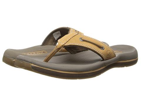 Sperry Top-Sider - Santa Cruz Thong (Tan) Men's Sandals