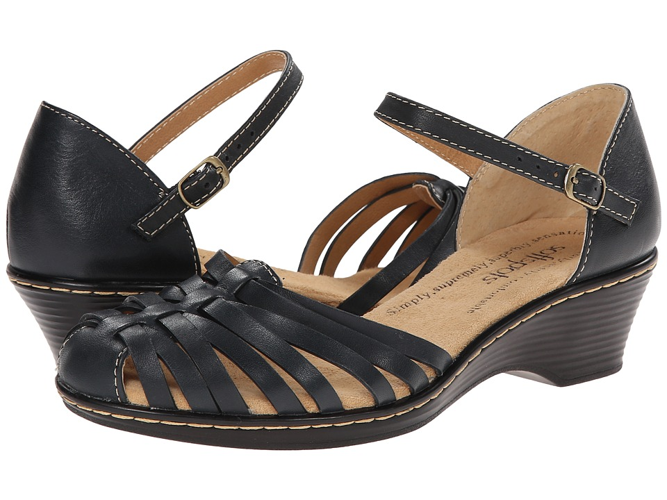 Comfortiva - Tatianna - Soft Spots (Navy) Women's Slip on Shoes