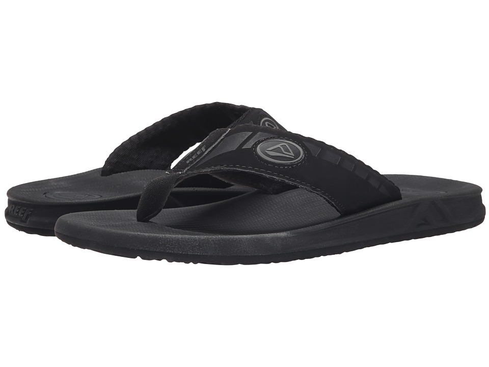 Reef - Phantoms (Black) Men's Sandals