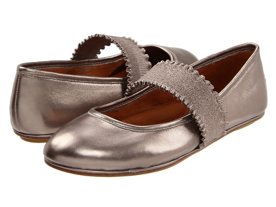 Gentle Souls - Gabby (Pewter Metallic) Women's Maryjane Shoes