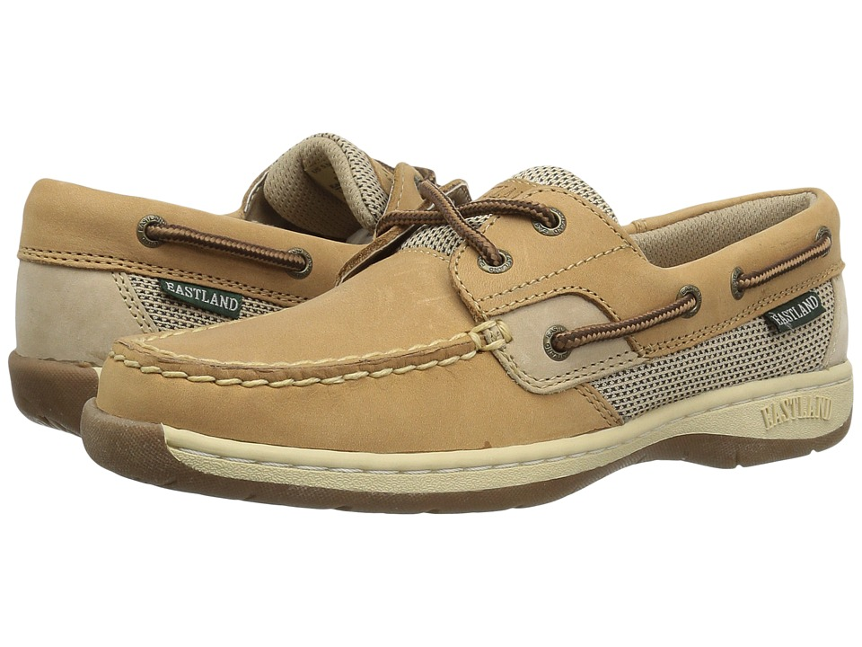 Eastland - Solstice (Tan & Stone Leather) Women's Flat Shoes